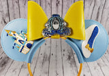 Cinderella Mouse Ears/Headband - Kool Catz Stuff