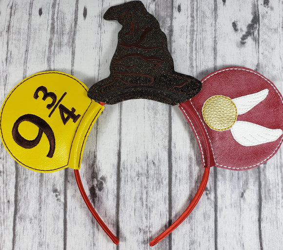 Harry Potter Mouse Ears/Headband - Kool Catz Stuff