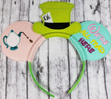 Mad Hatter Mouse Ears/Headband