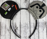 Darth Vader Mouse Ears/Headband