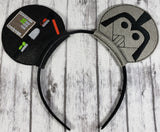 Darth Vader Mouse Ears/Headband - Kool Catz Stuff