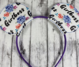 Girlboss Mouse Ears/Headband - Kool Catz Stuff