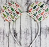 Christmas Mouse Ears/Headband - Kool Catz Stuff