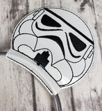 Storm Trooper Mouse Ears/Headband