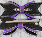 Baltimore Ravens Small Hair Bow