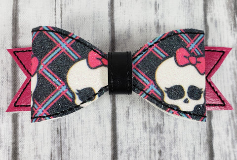 Monster High Skull Hair Bow