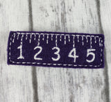 Ruler Hair Clip - Kool Catz Stuff