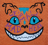 We're All Mad Here Cheshire Cat Towel - Kool Catz Stuff