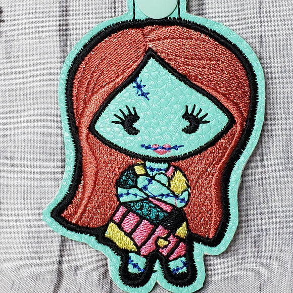 Sally Skellington Chibi Keychain