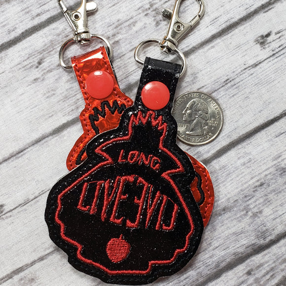 Long Live Evil Keychain
