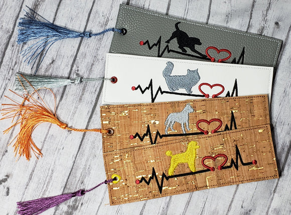 Animal Heartbeat Bookmark