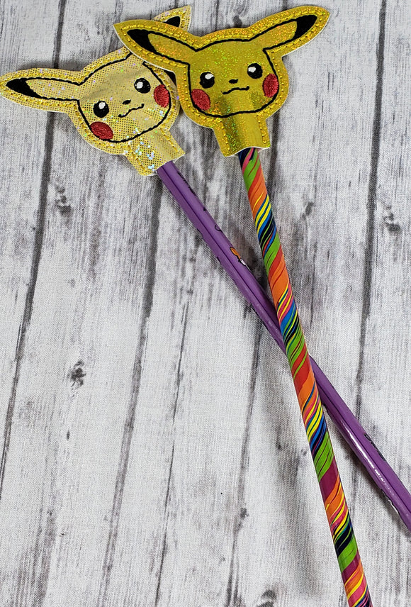 Pikachu Pokemon Pencil Topper