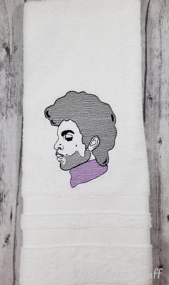 Prince, Purple One, Purple Rain Towel
