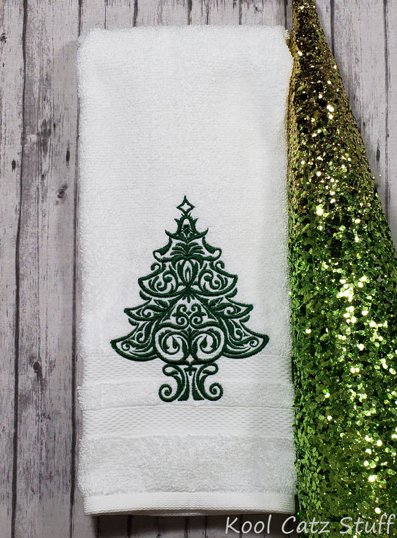 Decorative Tree Towel