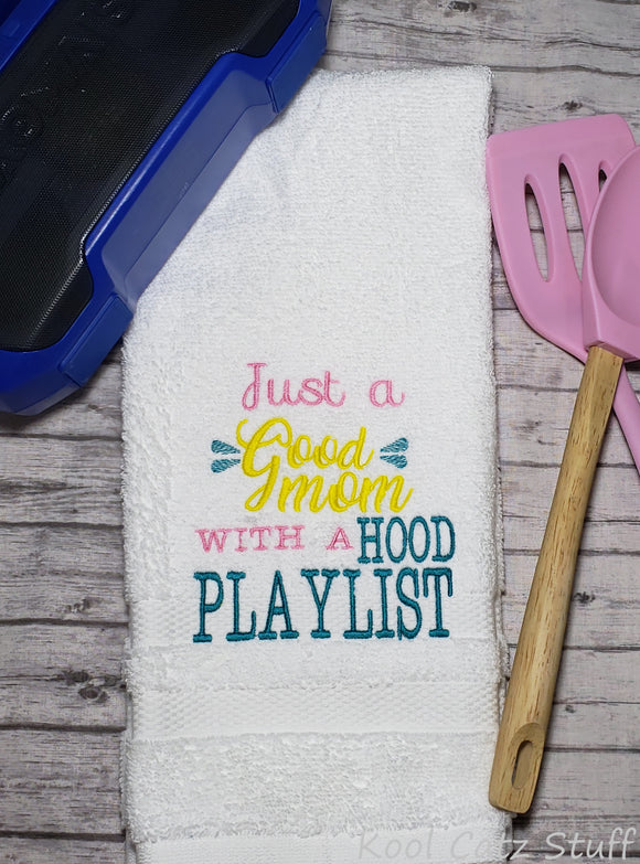 Hood Play List Towel