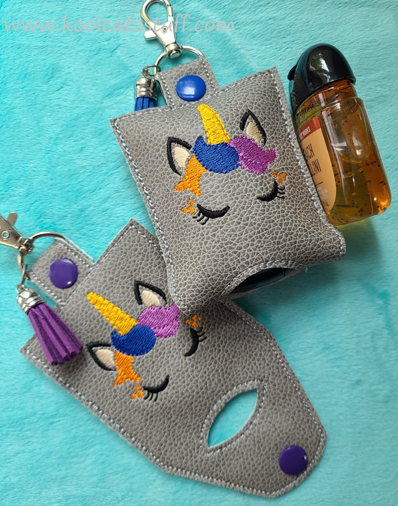 Unicorn Face Hand Sanitizer Holder
