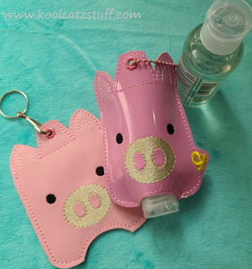 Pig Hand Sanitizer Holder