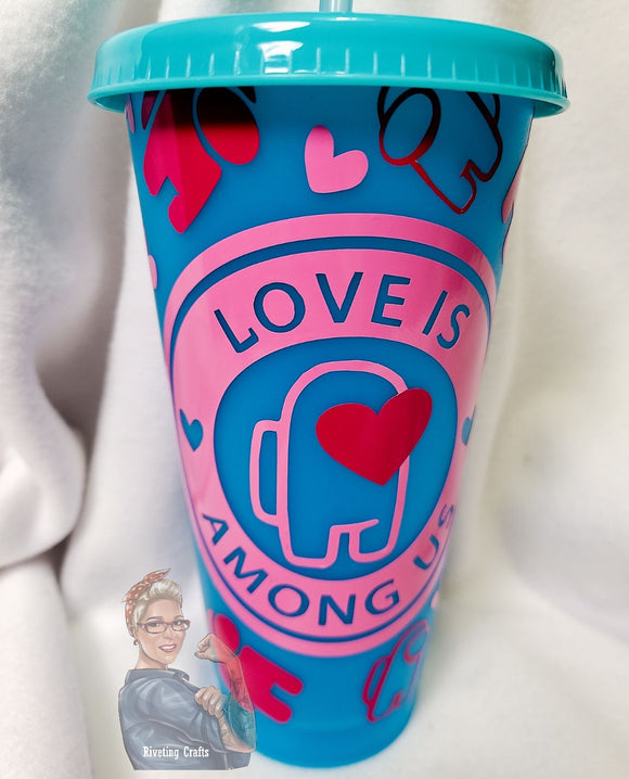 Love Is Among Us Color Changing Tumbler