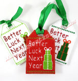 Better Luck Next Year Gift Tag