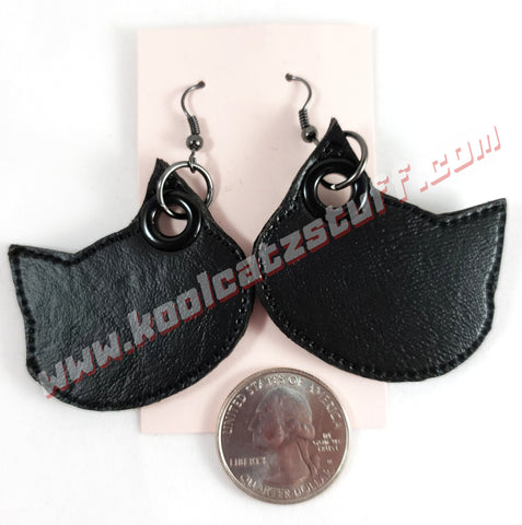 Black Cat Earrings - Kool Catz Stuff