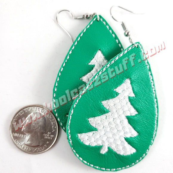 Christmas Tree Earrings - Kool Catz Stuff