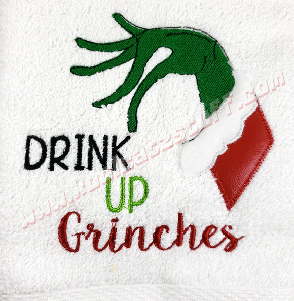 Drink Up Grinches Design - Kool Catz Stuff