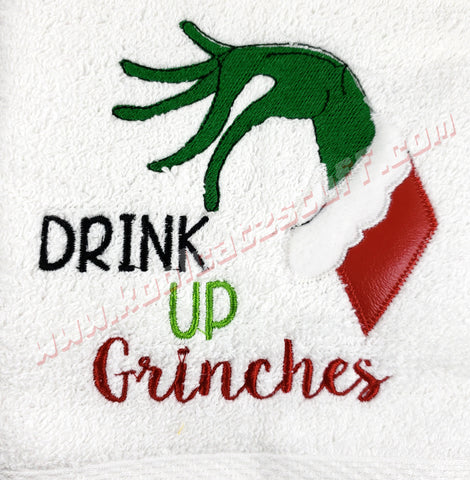 Drink Up Grinches Design