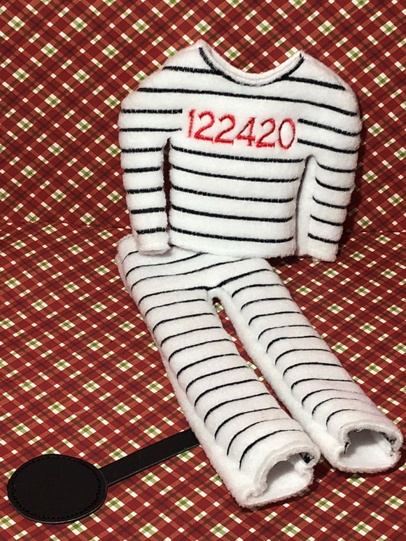 Prisoner Elf Costume - Kool Catz Stuff
