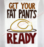 Get Your Fat Pants Ready Towel - Kool Catz Stuff