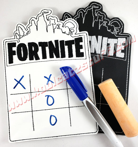 Fortnite Tic Tac Toe Game Board - Kool Catz Stuff
