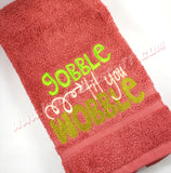 Gobble til You Wobble Towels - Kool Catz Stuff