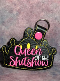 Queen of the Shitshow Keychain - Kool Catz Stuff
