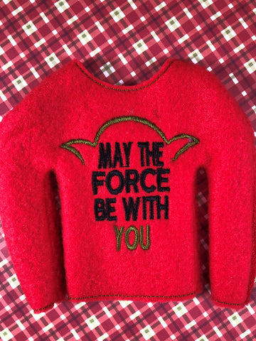 May the Force Elf Shirt