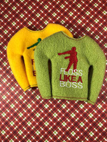 Floss Like a Boss Elf Shirt
