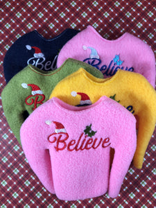 Believe Elf Sweater/Shirt - Kool Catz Stuff