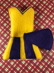 Cheerleader Elf/Doll Costume - Kool Catz Stuff