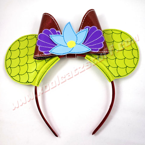 Little Mermaid Mouse Ears/Headband