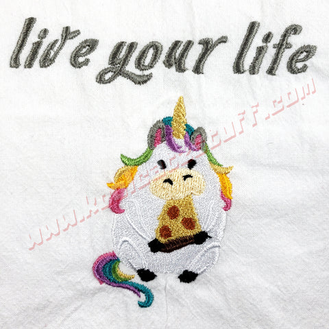 Live Your Life Towel - Kool Catz Stuff