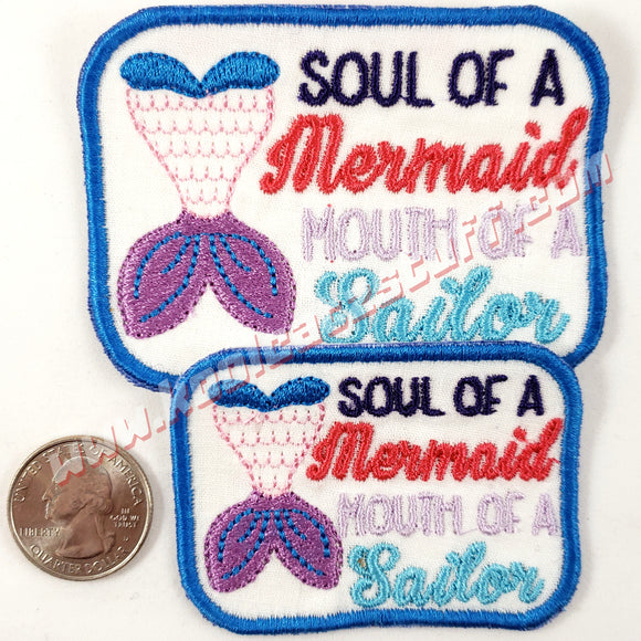Mermaid Patch, 2 Pack - Kool Catz Stuff