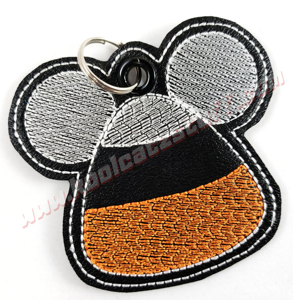 Candy Corn Mickey Mouse Keychain - Kool Catz Stuff