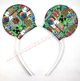 Minecraft Mouse Ears/Headband - Kool Catz Stuff