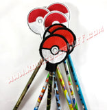 Pokeball Pencil Topper - Kool Catz Stuff