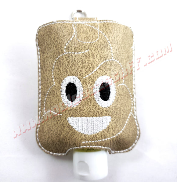 Poo Emoji Hand Sanitizer Holder - Kool Catz Stuff