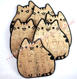 Pusheen the Cat Mug Rug/Coaster - Kool Catz Stuff