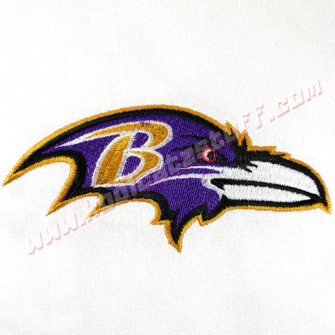 Baltimore Ravens, Raven Head Towel - Kool Catz Stuff