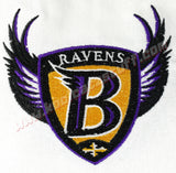 Baltimore Ravens Shield Towel