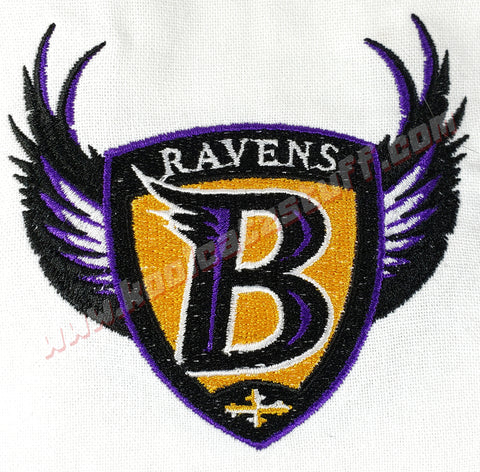 Baltimore Ravens Shield Towel - Kool Catz Stuff