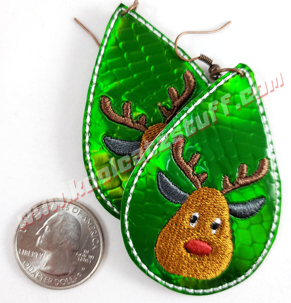 Reindeer Earrings - Kool Catz Stuff