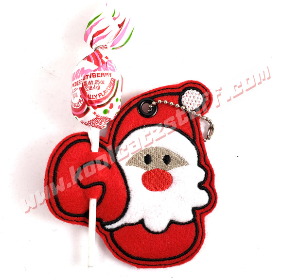 Santa Lollipop/Candy Cane Holder - Kool Catz Stuff