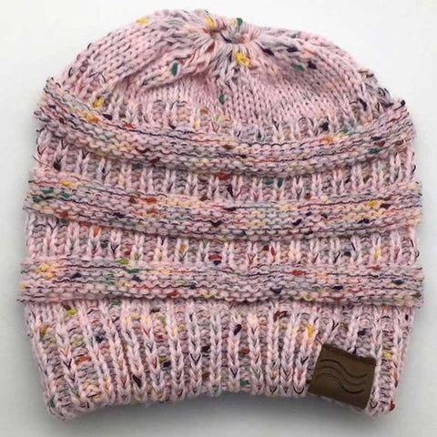 656733b8a6d ... Ponytail Beanie Hat Winter Skullies Beanies Warm Caps Female Knitted  Stylish Hats For Ladies Fashion ...